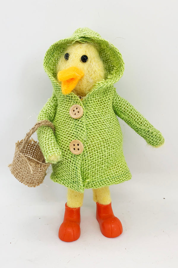 Duck in Green Coat - Large