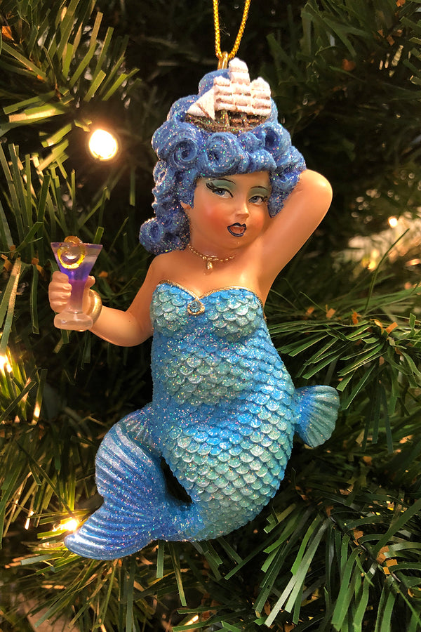 DCD Mermaid Ornament - Mini Rough Waters