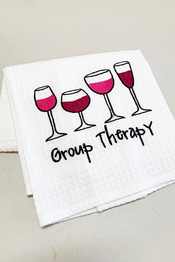 Waffle Dish Towel - Group Therapy