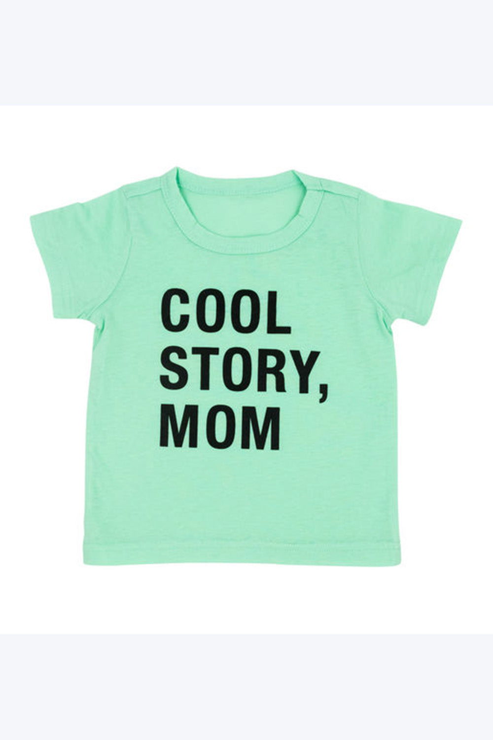 Funny Kid Tee Shirt - Cool Story Mom