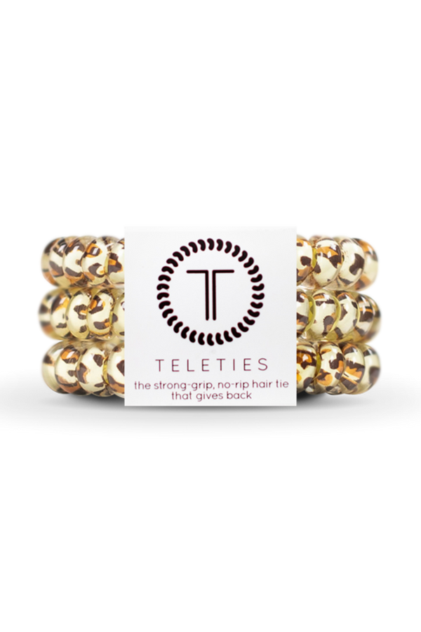 Teleties Hair Ties - Leopard