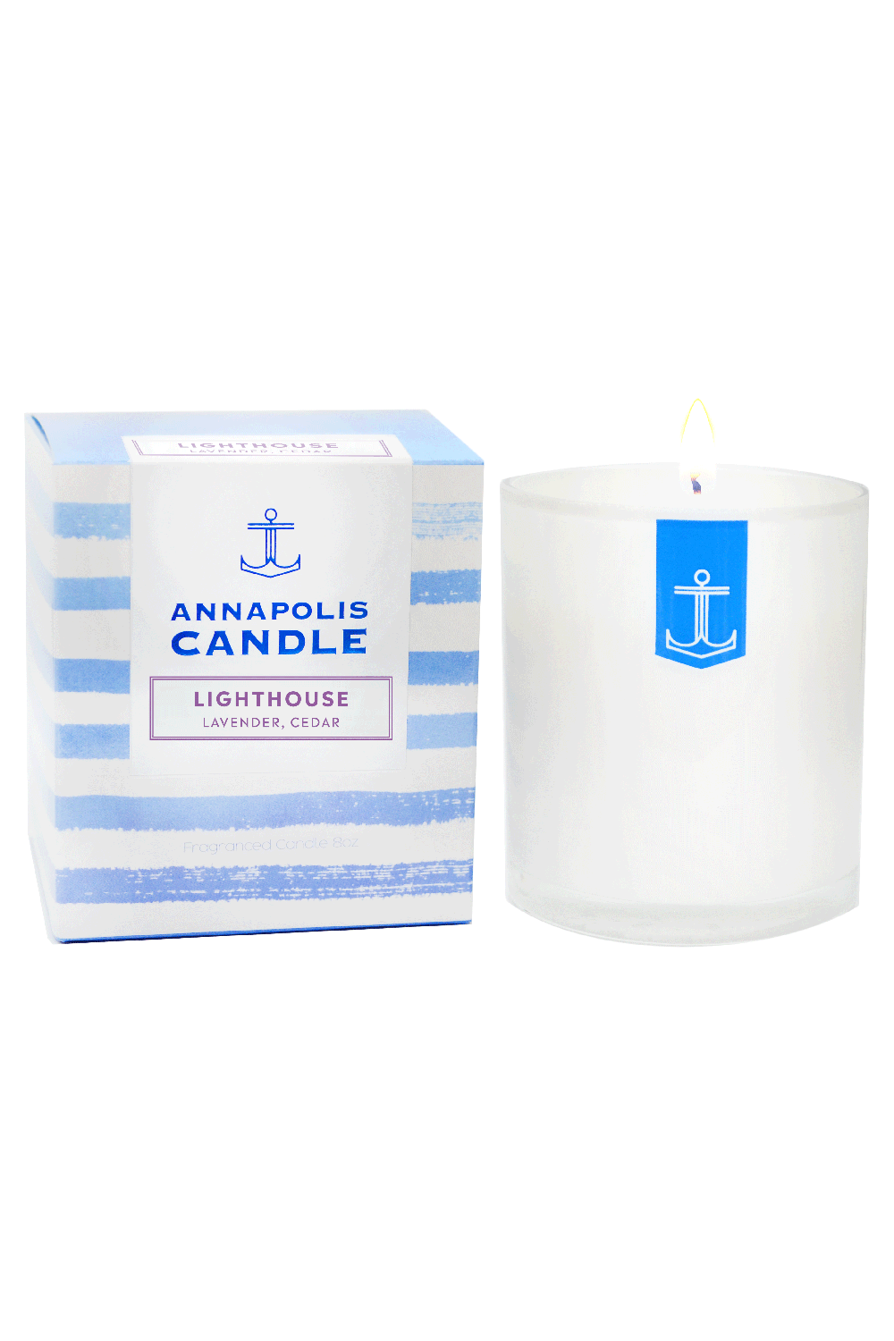 *NEW* Boxed Annapolis Candle - Lighthouse