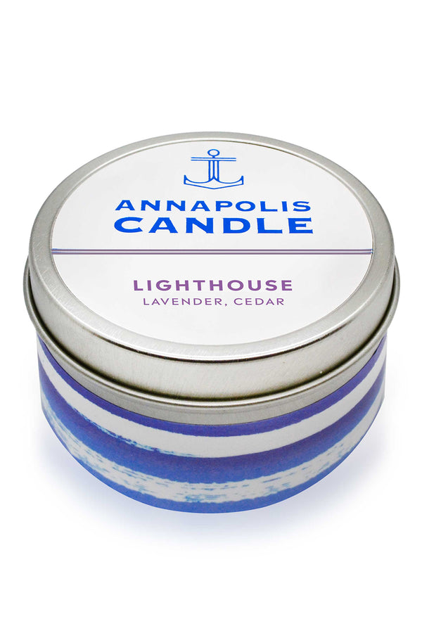 *NEW* Tin Annapolis Candle - Lighthouse