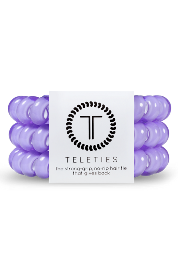 Teleties Hair Ties - Lilac