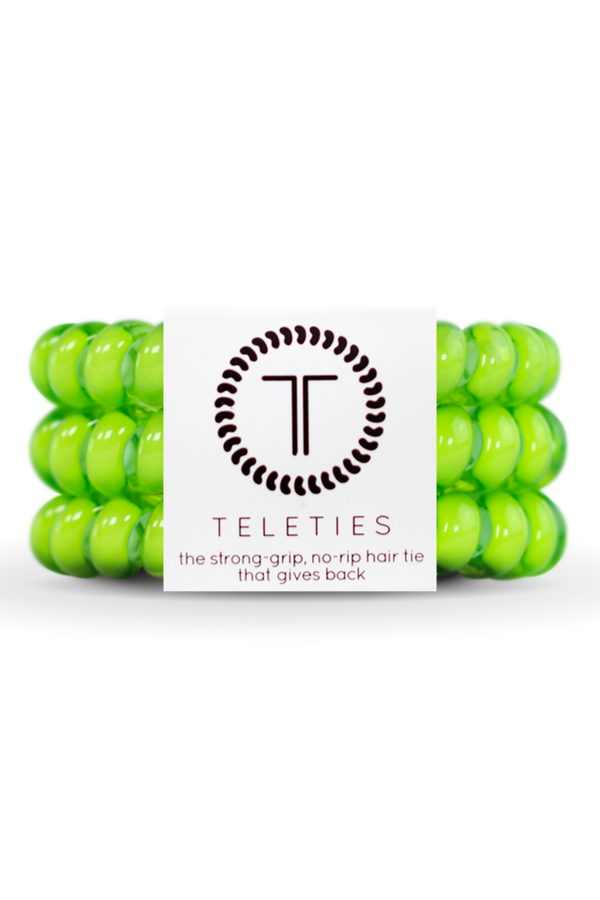 Teleties Hair Ties - Lime
