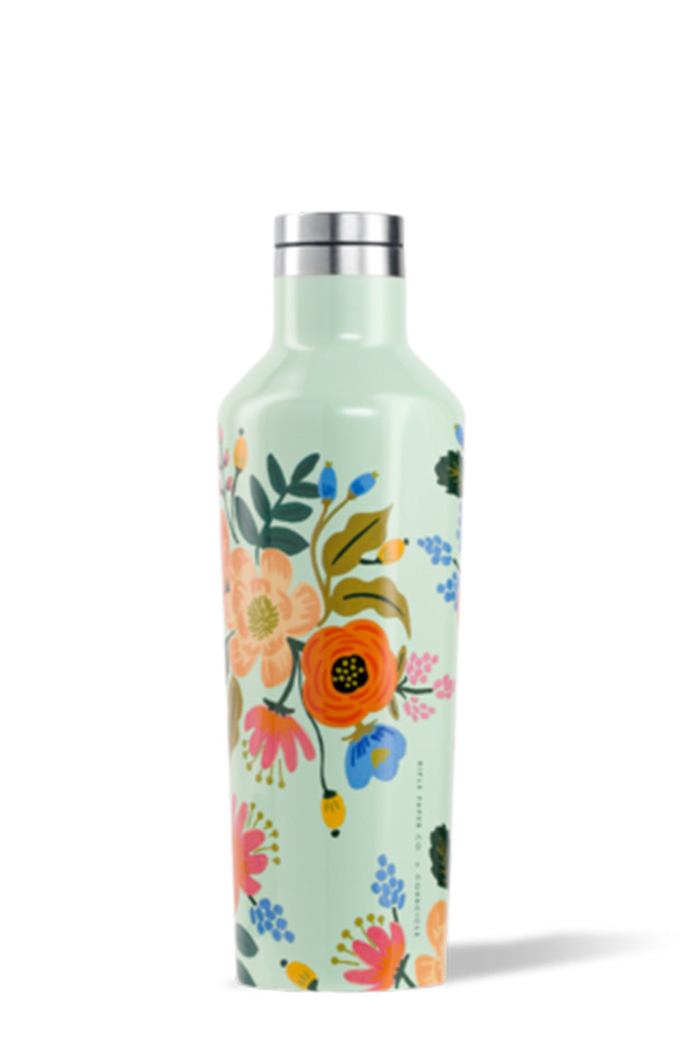*Rifle Paper* Modern Corkcicle Canteen - Lively Floral