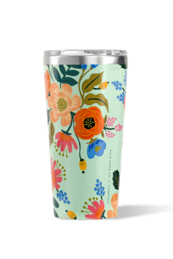 *Rifle Paper* Modern Corkcicle Tumbler - Lively Floral