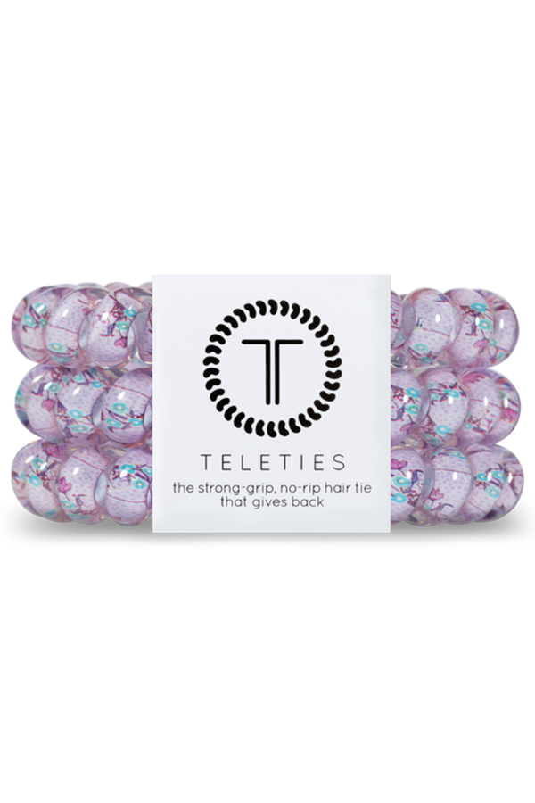 Teleties Hair Ties - Lovely Lavender