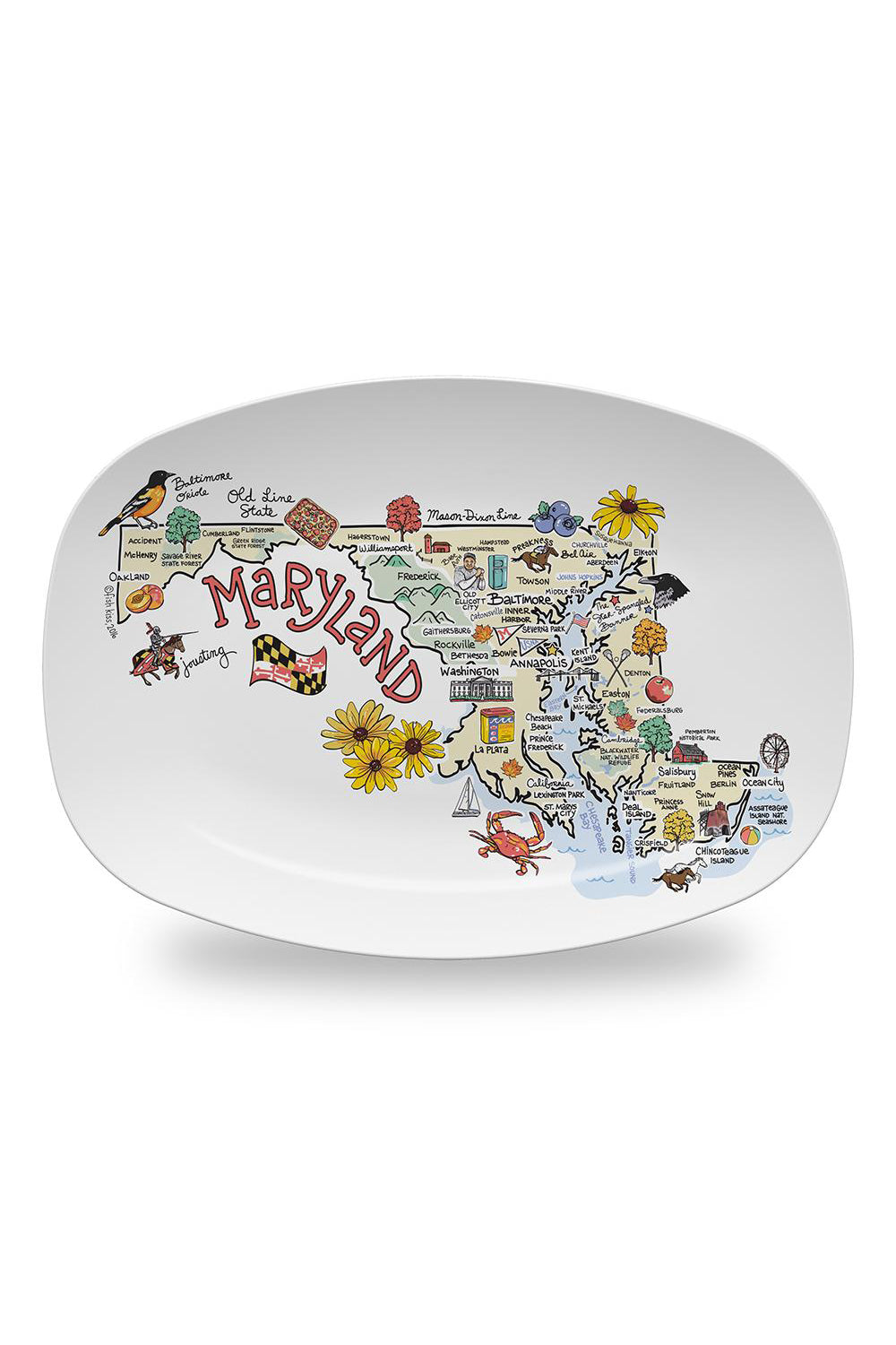 Platter - Maryland Map