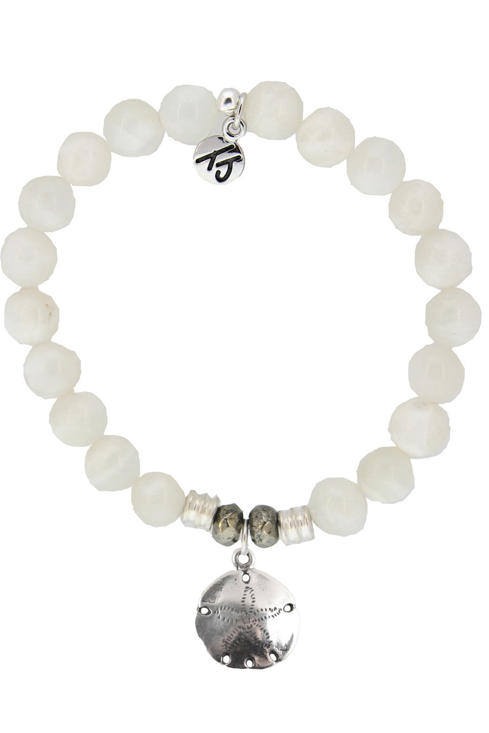 TJ Beaded Bracelet - Moonstone Stones