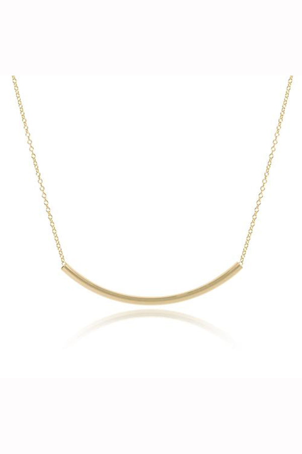 EN Bliss Bar Necklace - Gold