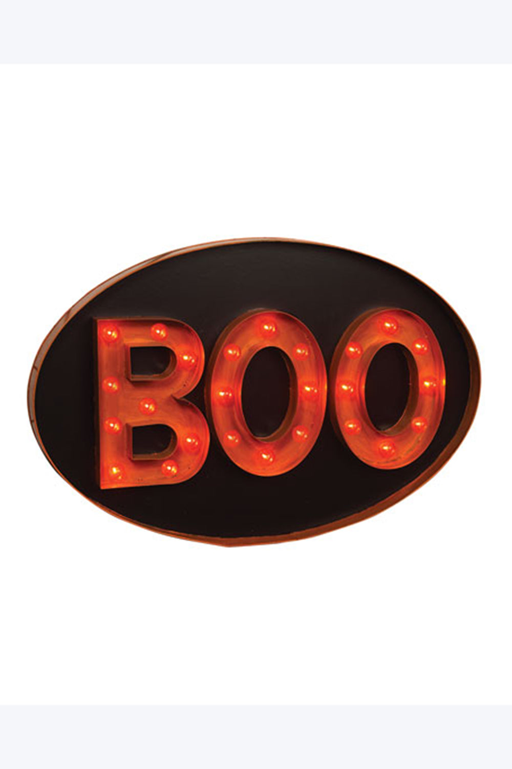 BOO Light Up Marquis Sign