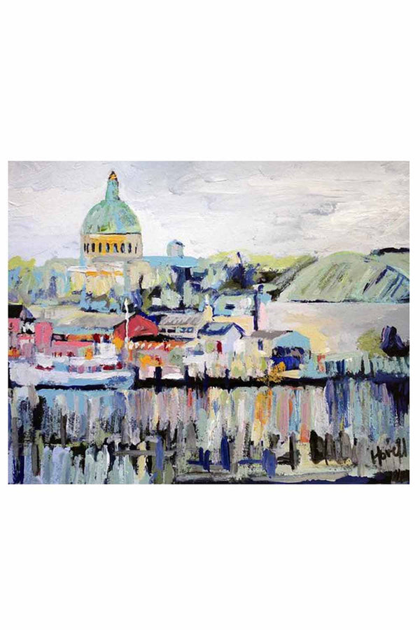 Kim Hovell Matted Print - Naval Academy Annapolis