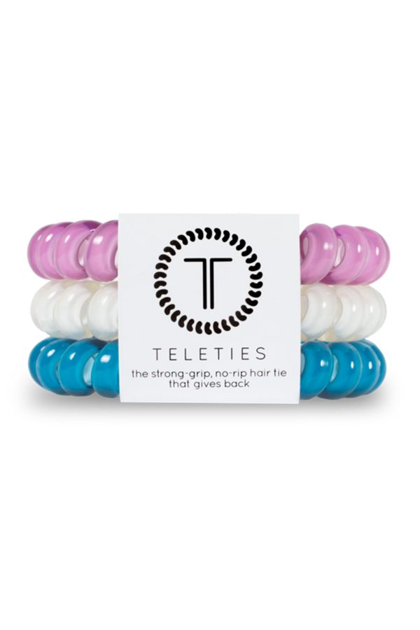Teleties Hair Ties - Peacock