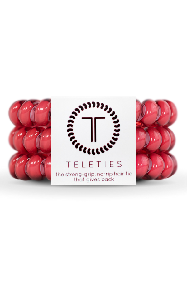 Teleties Hair Ties - Peony
