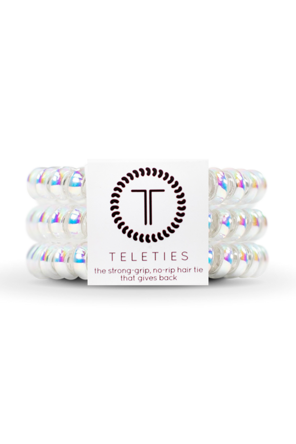 Teleties Hair Ties - Peppermint
