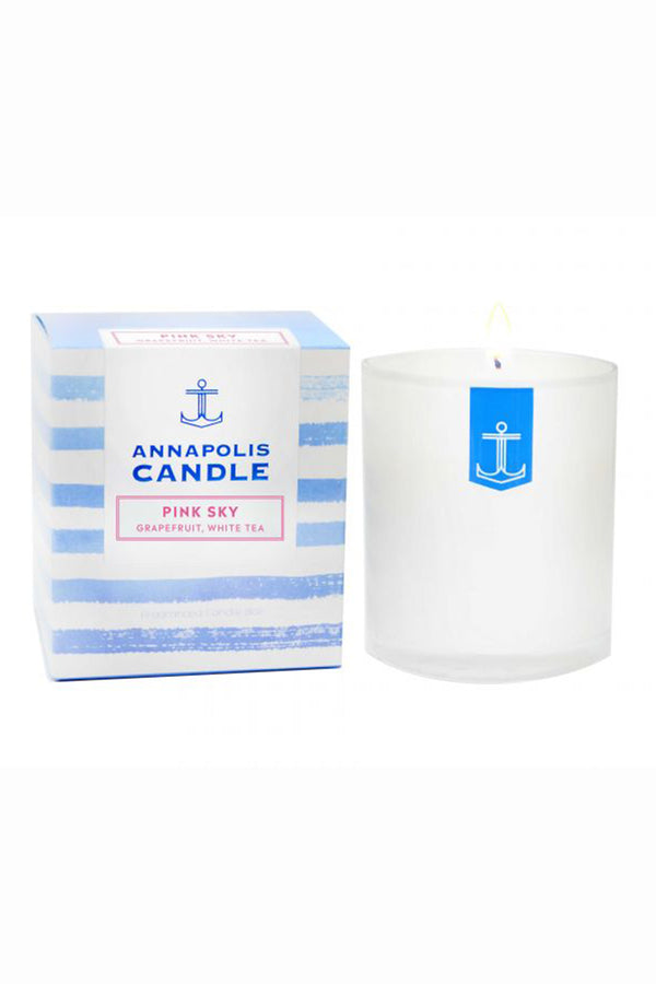 *NEW* Boxed Annapolis Candle - Pink Sky