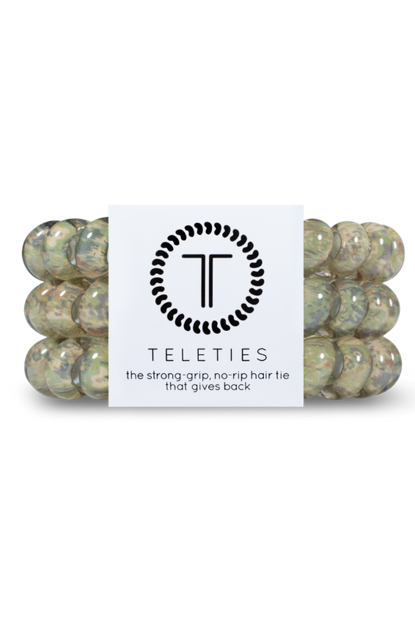 Teleties Hair Ties - Precious Cargo Camo