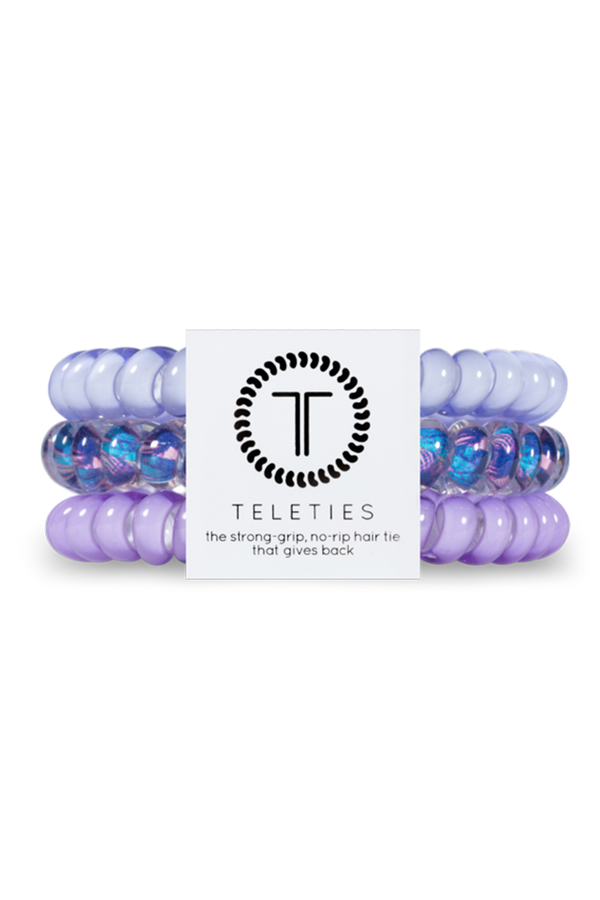 Teleties Hair Ties - Purple Please