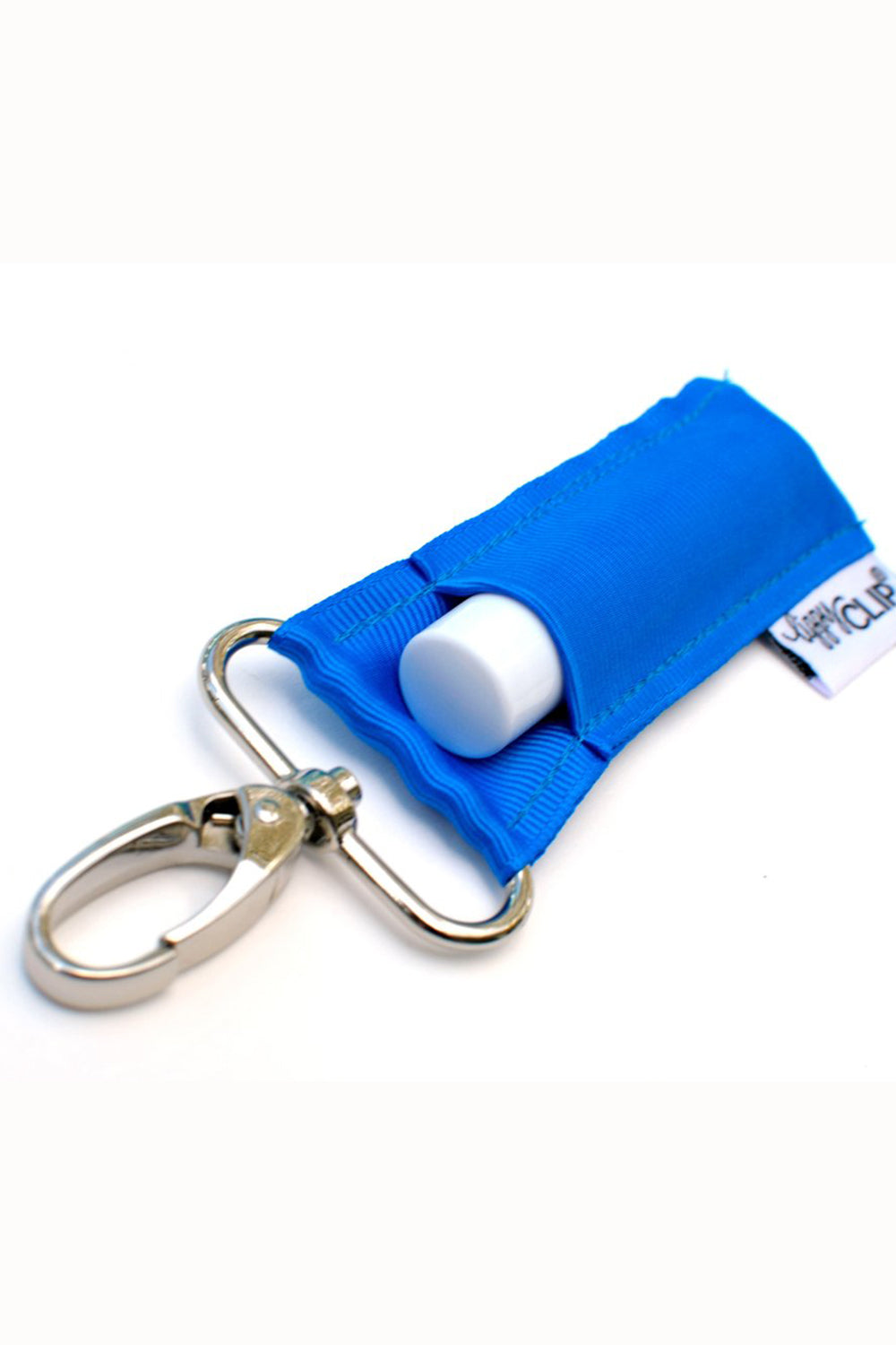 LippyClip Chapstick Holder Keychain  - Royal Blue