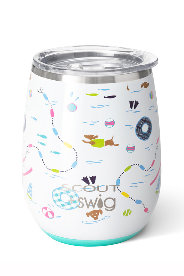 Modern Stemless Wine Tumbler SCOUT - Float Couture