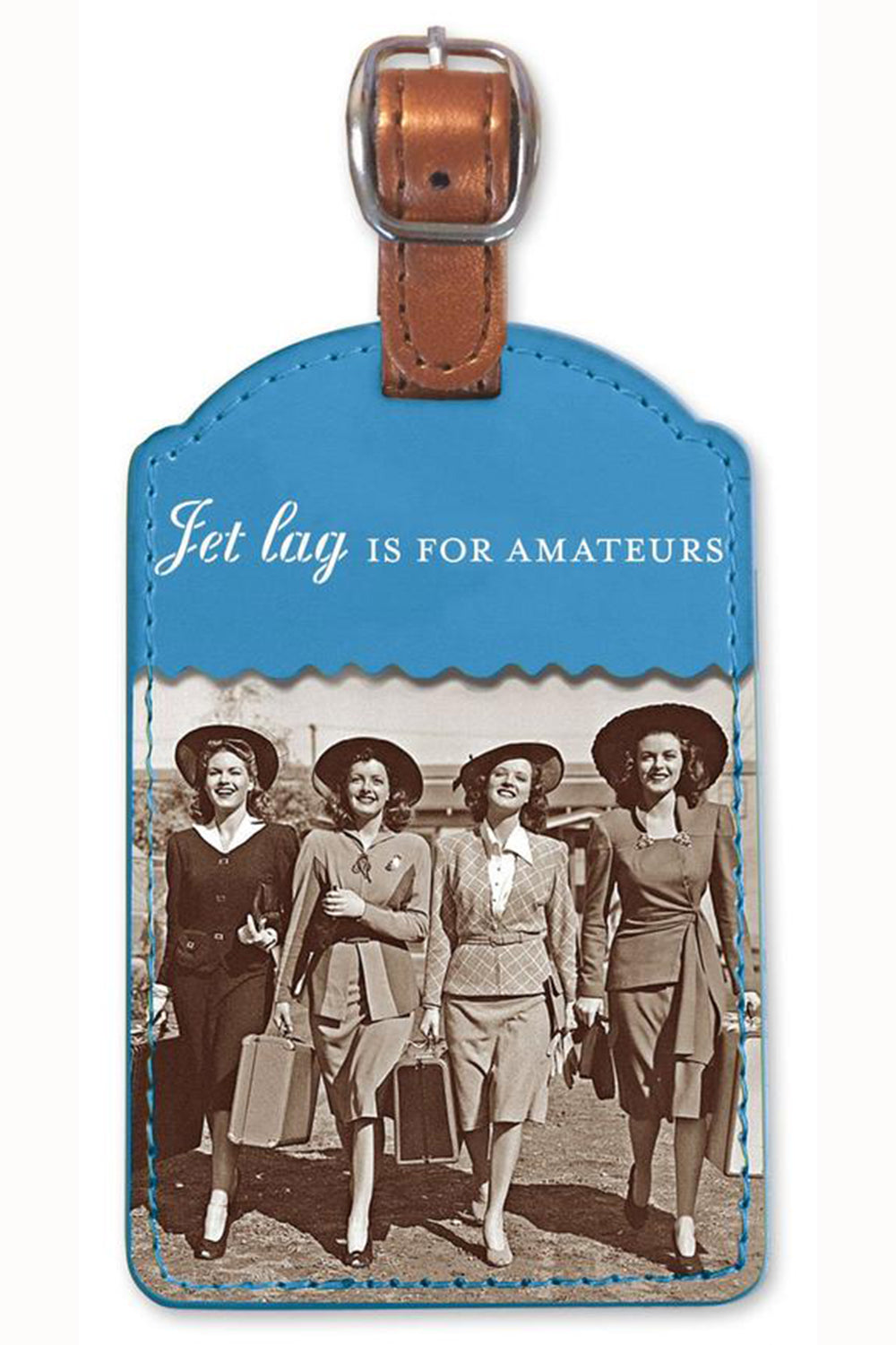 Fun Luggage Tag - Jet Lag