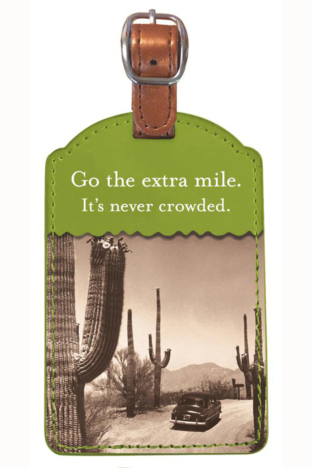 Fun Luggage Tag - Extra Mile