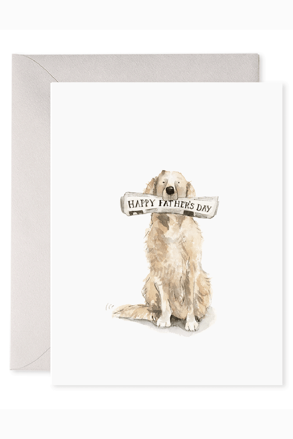FRAN Father's Day Greeting Card - Doggy Dad