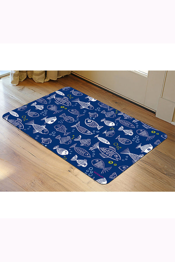 "SCOUT Floor Mat - ""One Fish Blue Fish"" SS19"