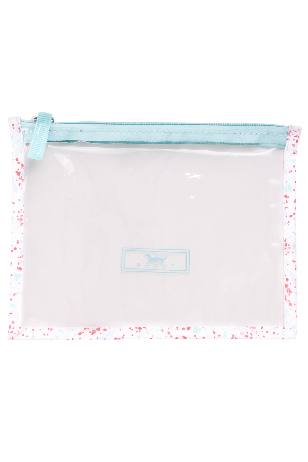 "Sheer Madness Clear Pouch - ""Splatti Labelle"" SS20"