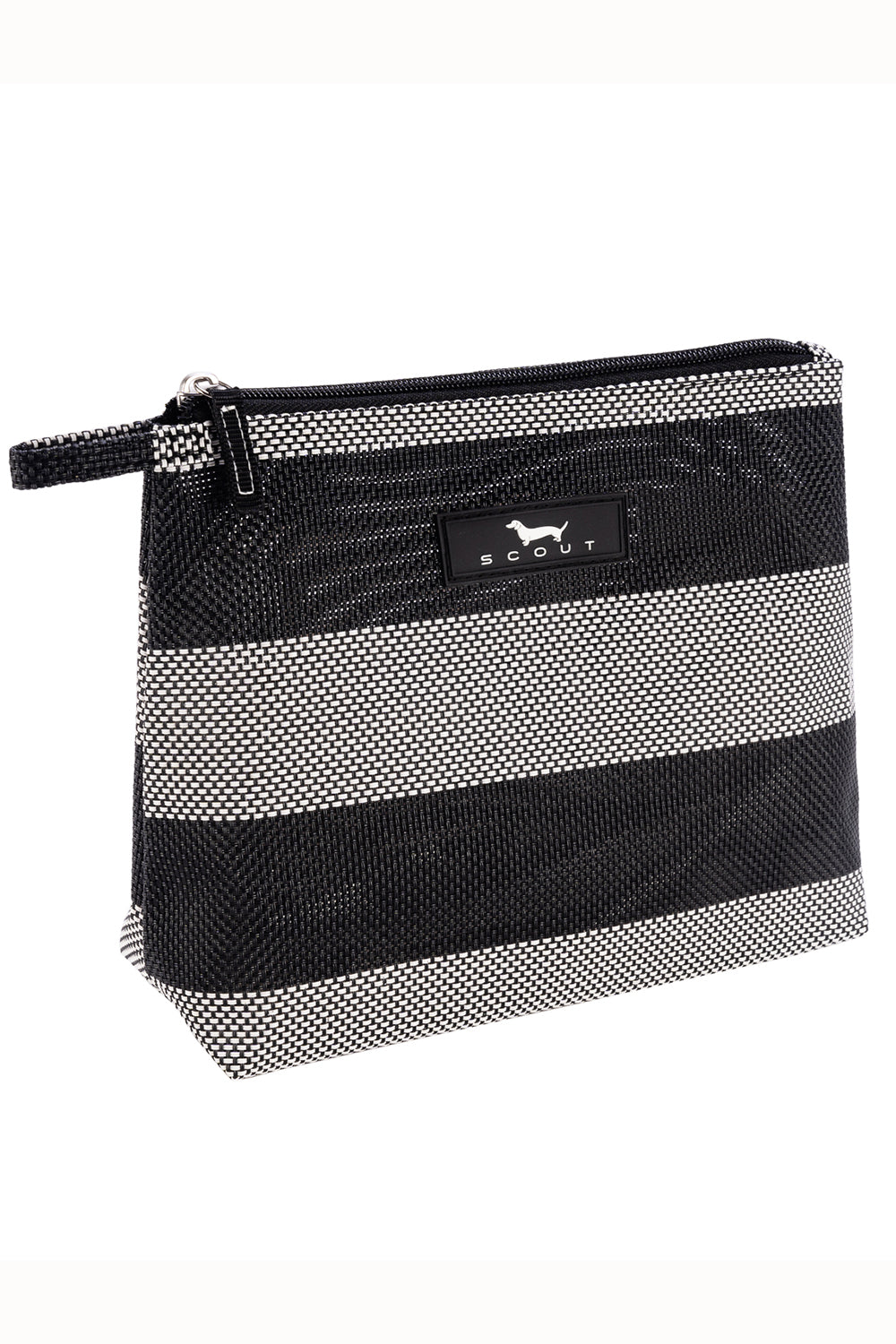 "NEW FABRIC Go Getter Cosmetic Bag - ""Baja Black"" SUM21"