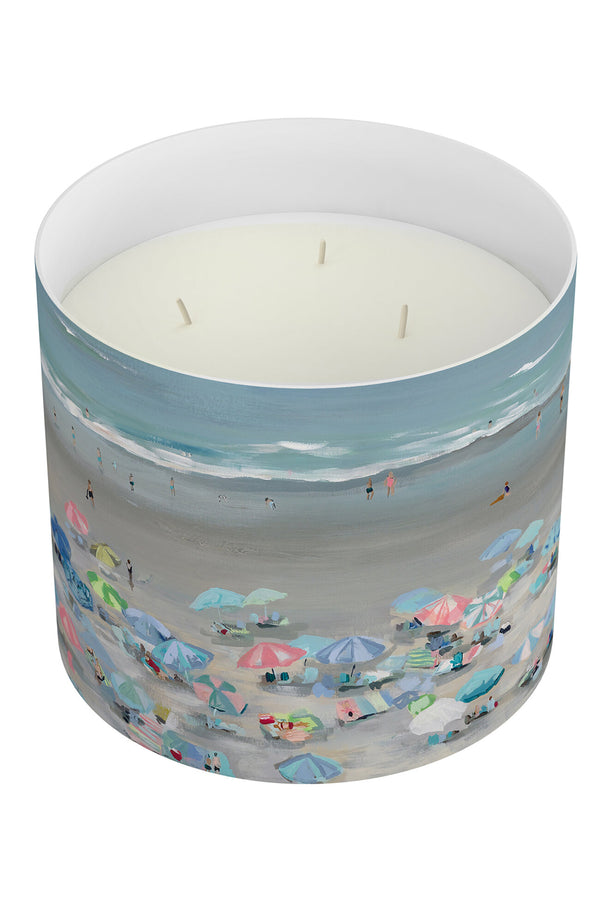 Kim Hovell + Annapolis Candle - 3 Wick Salty Surf