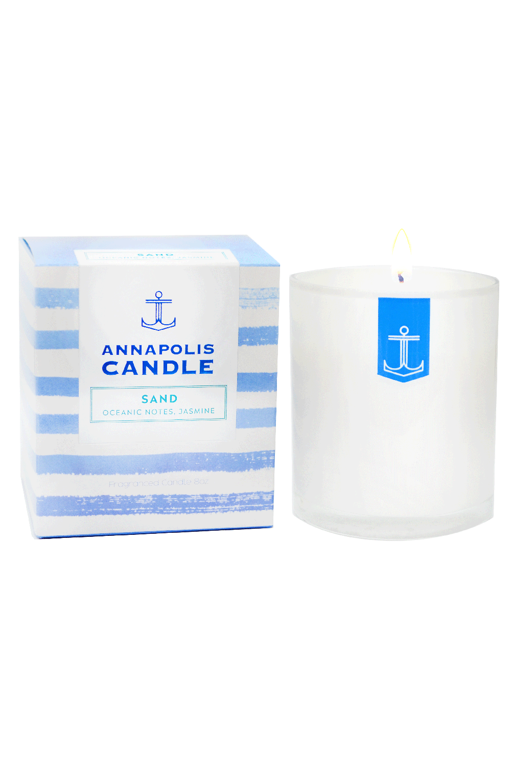 *NEW* Boxed Annapolis Candle - Sand