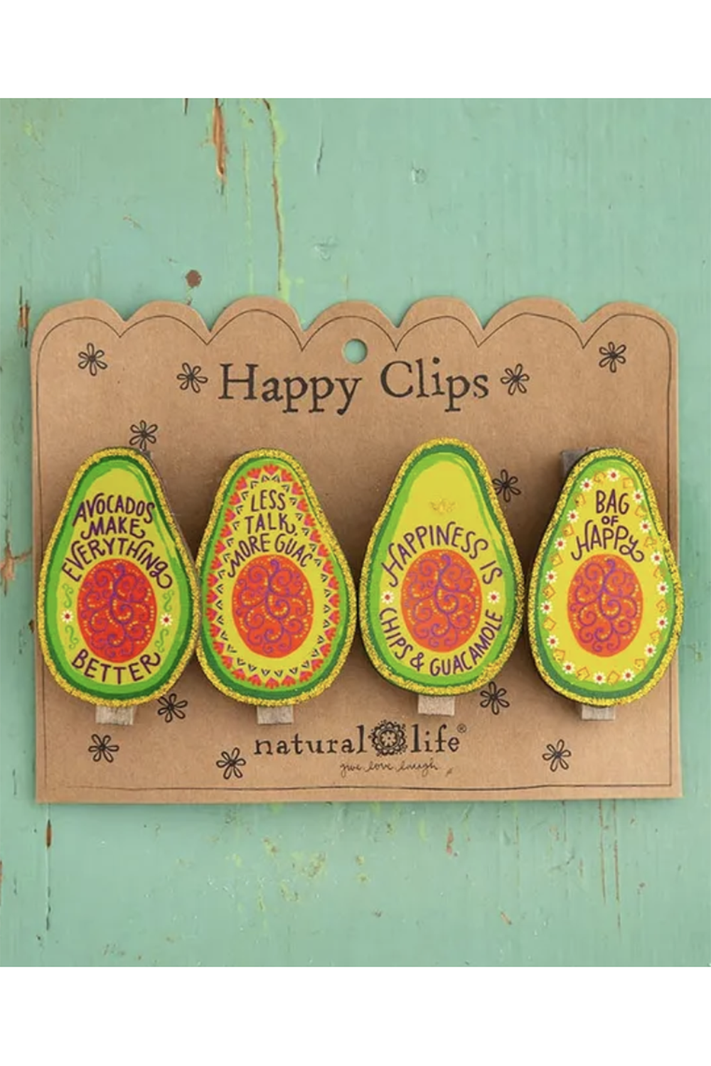Magnet Chip Clip Set - Avocado