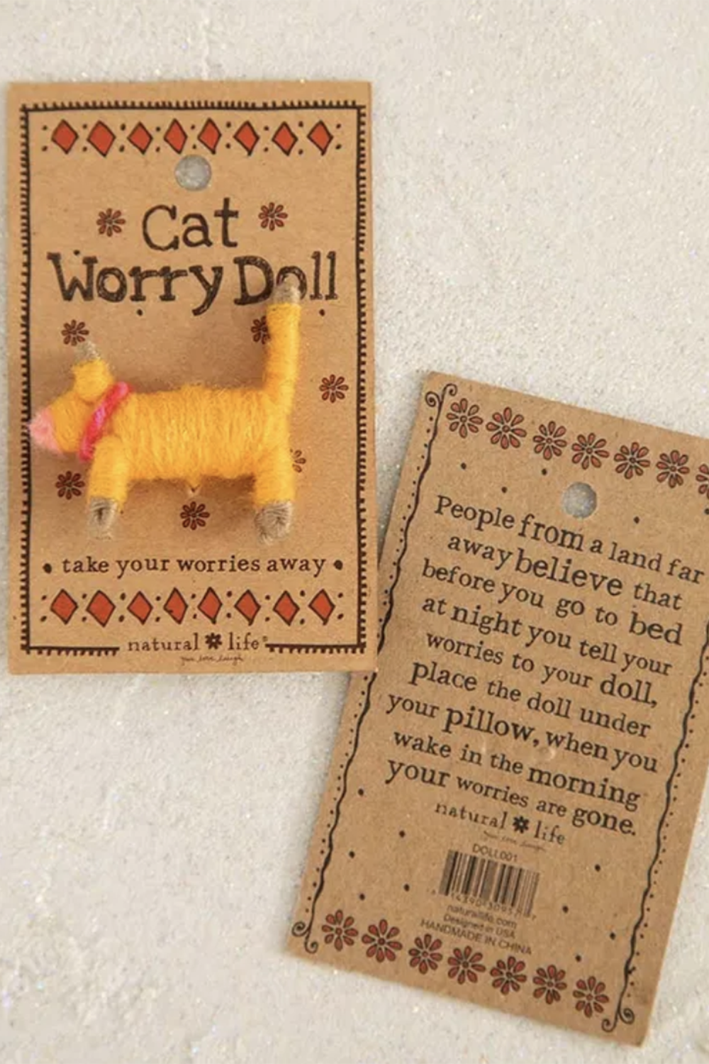 Worry Doll - Cat
