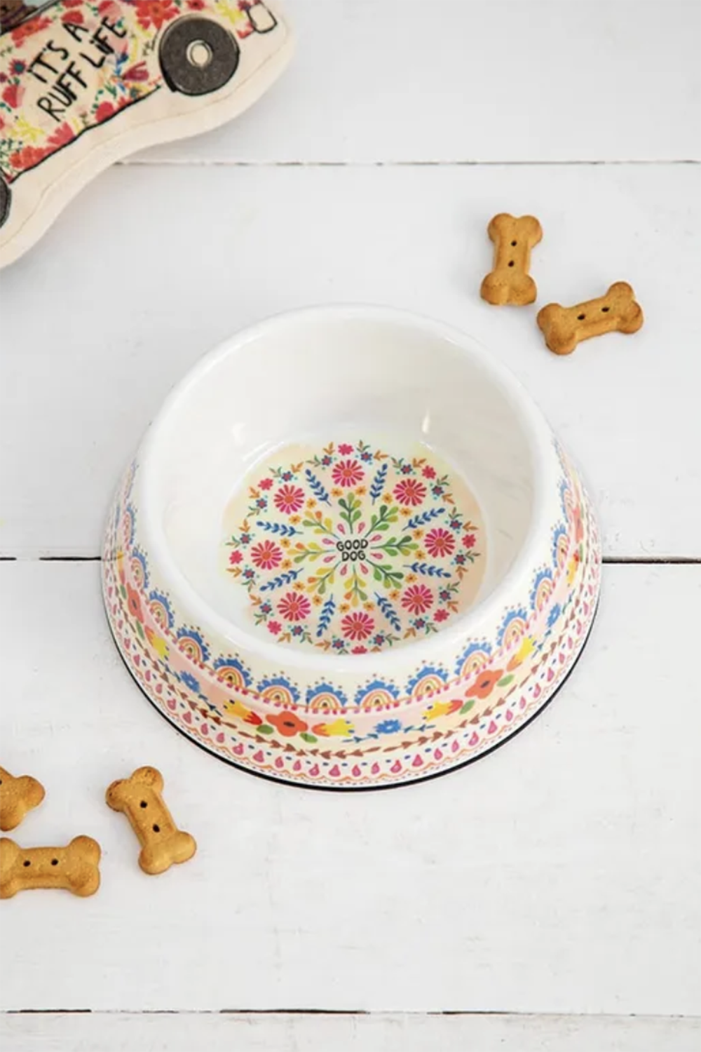 Folk Dog Bowl - Small