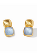 Vos Catalina Earring - Chalcedony Blue