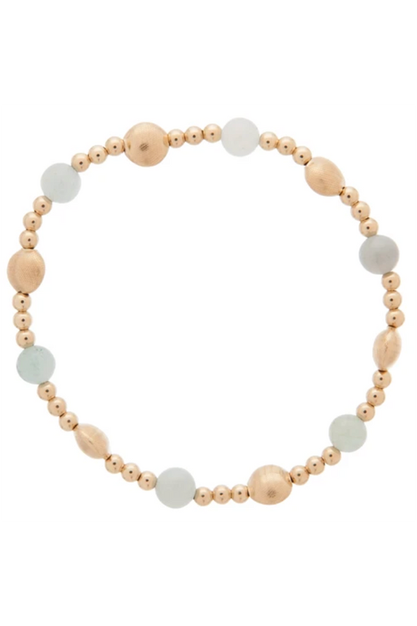 EN Honesty Pattern Bracelet - Aquamarine