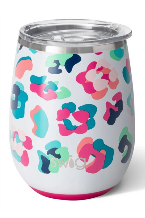 Modern Stemless Wine Tumbler - Party Animal
