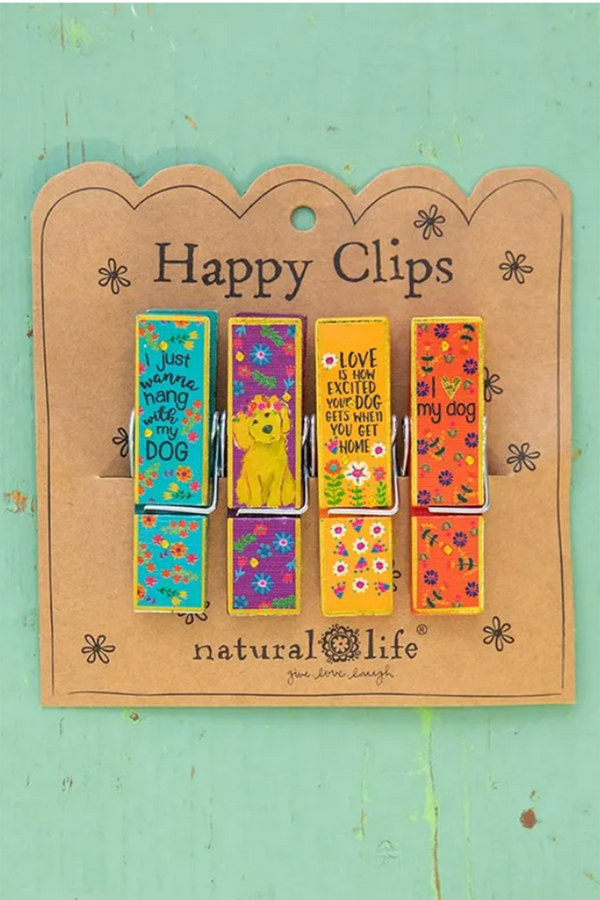 Chip Clip Set - Hang with Dog