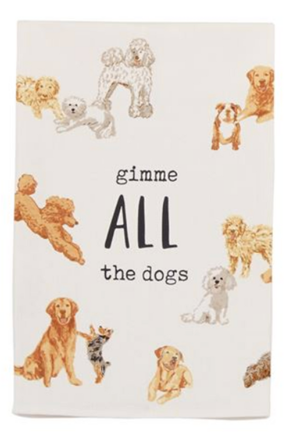 Dish Towel - All the Dogs
