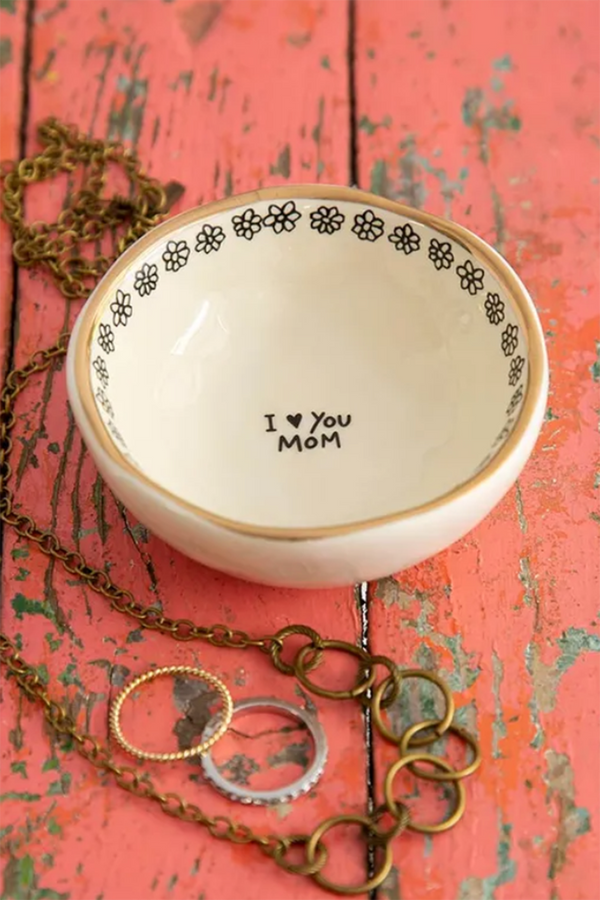 Giving Trinket Bowl - Love You Mom