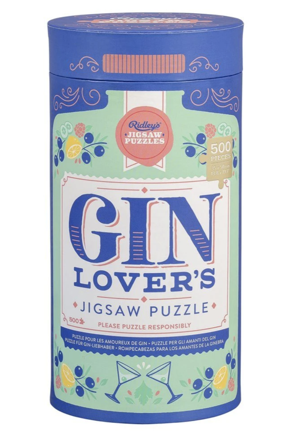 500 Piece Puzzle - Gin Lovers