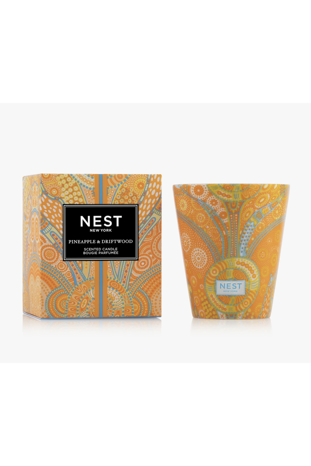 Nest Classic Summer Candle - Pineapple & Driftwood