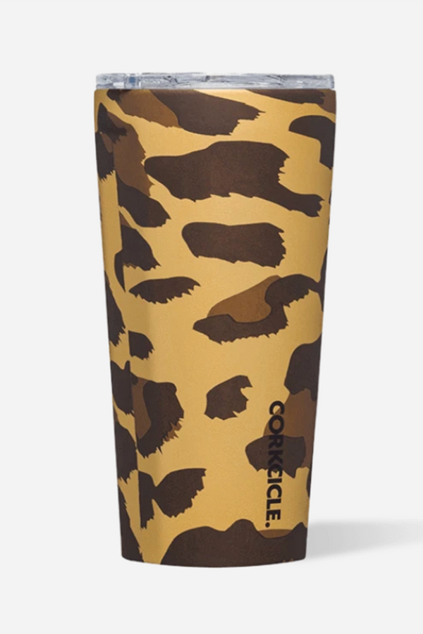 Modern Corkcicle Tumbler - Luxe Leopard
