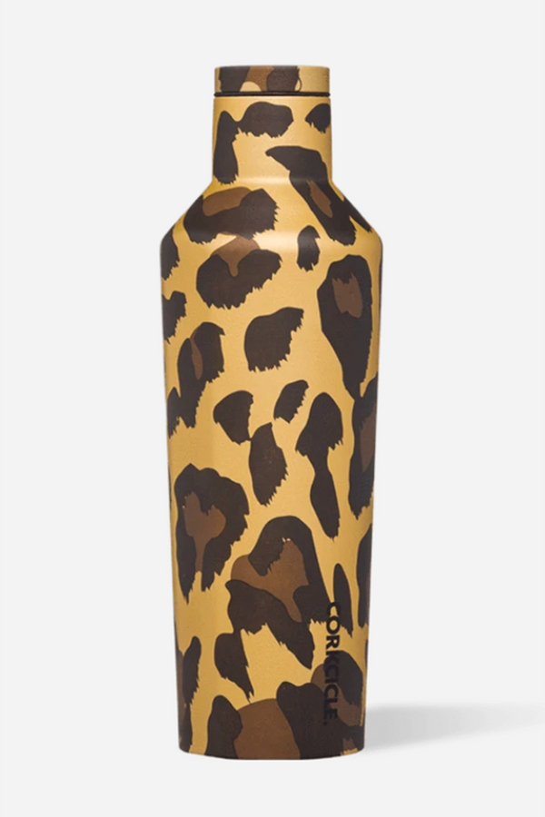 Modern Corkcicle Canteen - Luxe Leopard