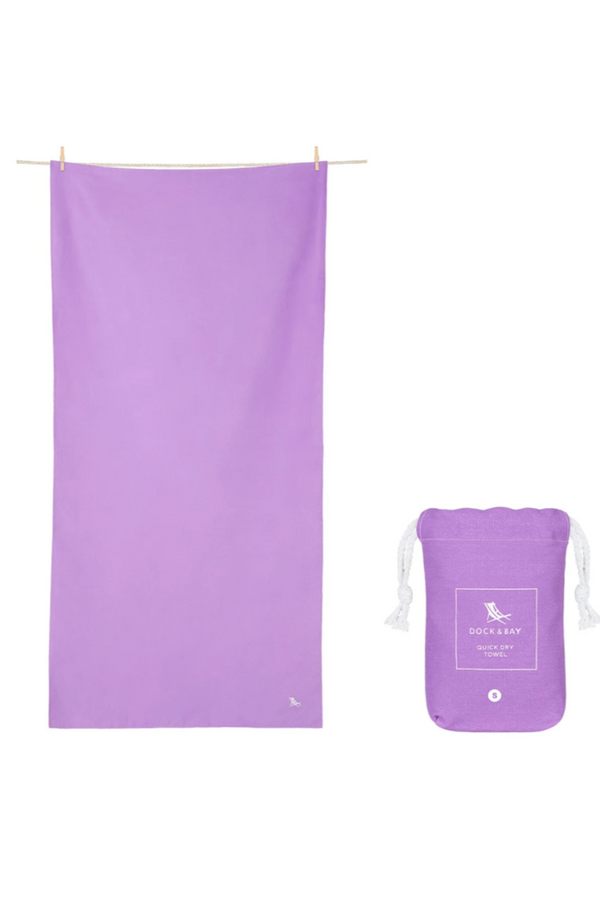 Quick Dry Summer Beach Towel - Patagonia Purple