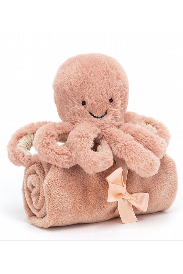 Amuseable Soother Blankie - Odell Octopus