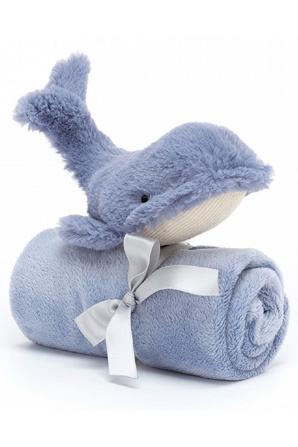 Amuseable Soother Blankie - Wilbur Whale
