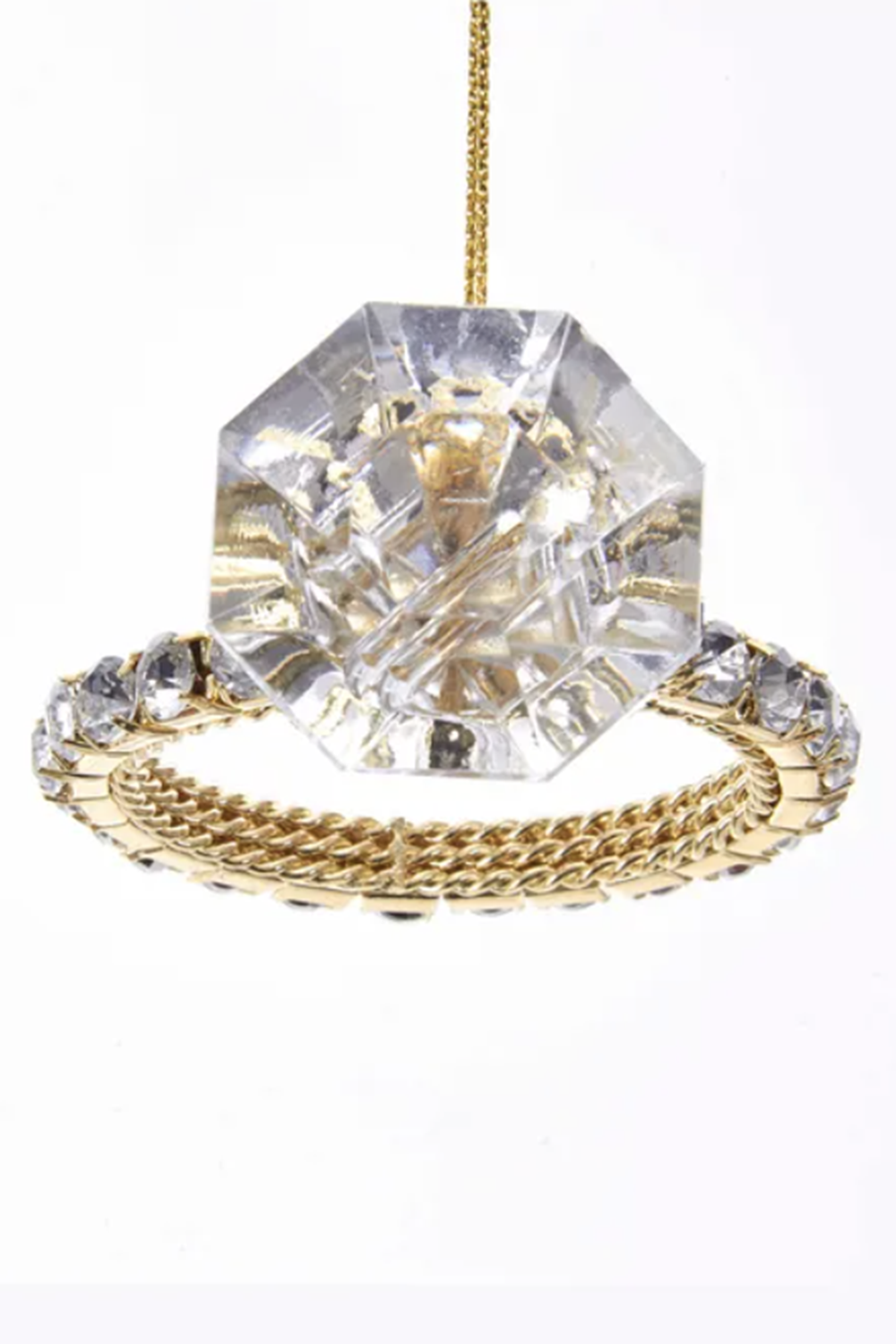 Fancy Ornament - Diamond Ring